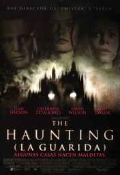 Cartel oficial en español de: The Haunting (La guarida)