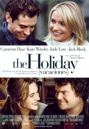Cartel oficial en español de: The Holiday (Vacaciones)