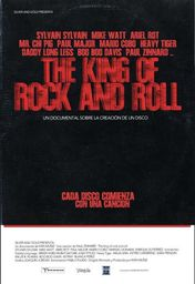 Cartel oficial en español de: The King of Rock And Roll