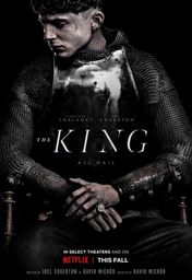 Cartel oficial en español de: The King