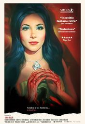 Cartel oficial en español de: The Love Witch