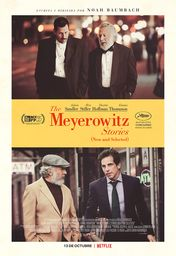 Cartel oficial en español de: The Meyerowitz Stories