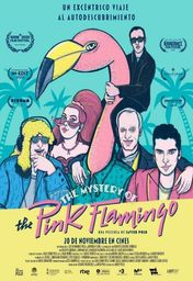 Cartel oficial en español de: The Mystery of the Pink Flamingo