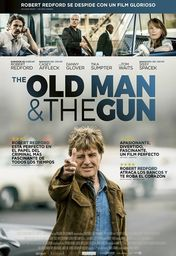 Cartel oficial en español de: The Old Man and the Gun