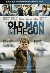 Cartel oficial en español de: The Old Man and the Gun