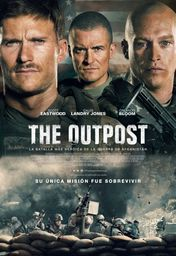 Cartel oficial en español de: The Outpost