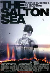 Cartel oficial en español de: The Salton Sea
