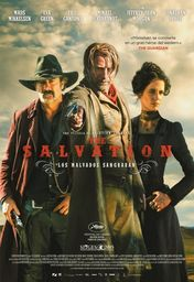 Cartel oficial en español de: The Salvation