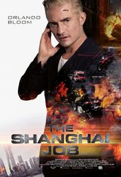 Cartel oficial en español de: The Shanghai Job