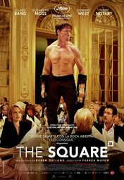 Cartel oficial en español de: The Square