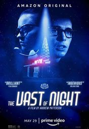 Cartel oficial en español de: The Vast of Night