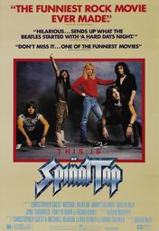 Cartel oficial en español de: This Is Spinal Tap
