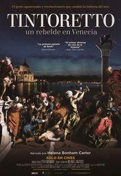 Cartel oficial en español de: Tintoretto. Un rebelde en Venecia
