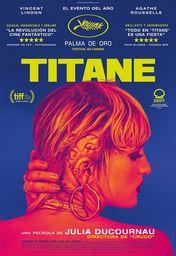 Cartel oficial en español de: Titane