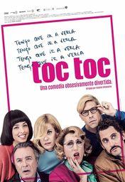 Cartel oficial en español de: Toc Toc