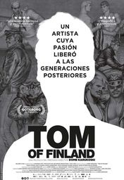 Cartel oficial en español de: Tom of Finland