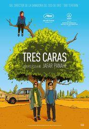 Cartel oficial en español de: Tres caras