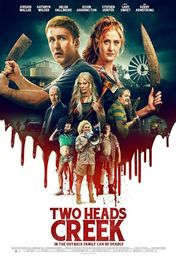 Cartel oficial en español de: Two Heads Creek