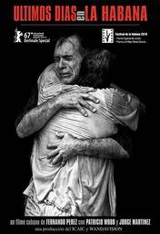 Cartel oficial en español de: Últimos días en La Habana