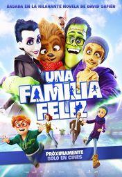 Cartel oficial en español de: Una familia feliz