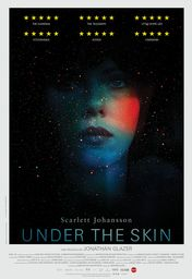 Cartel oficial en español de: Under the Skin