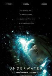 Cartel oficial en español de: Underwater