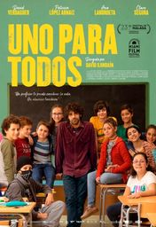 Cartel oficial en español de: Uno para todos