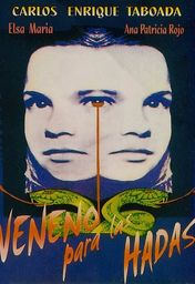 Cartel oficial en español de: Veneno para las hadas