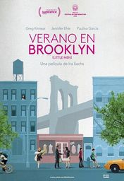 Cartel oficial en español de: Verano en Brooklyn (Little Men)