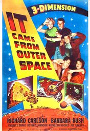 Cartel oficial en español de: Vinieron del Espacio (Llegó del más allá)