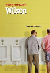 Cartel oficial en español de: Wilson