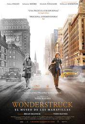 Cartel oficial en español de: Wonderstruck. El museo de las maravillas