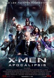 Cartel oficial en español de: X-Men: Apocalipsis