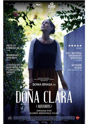 Cartel oficial en español de: Doña Clara