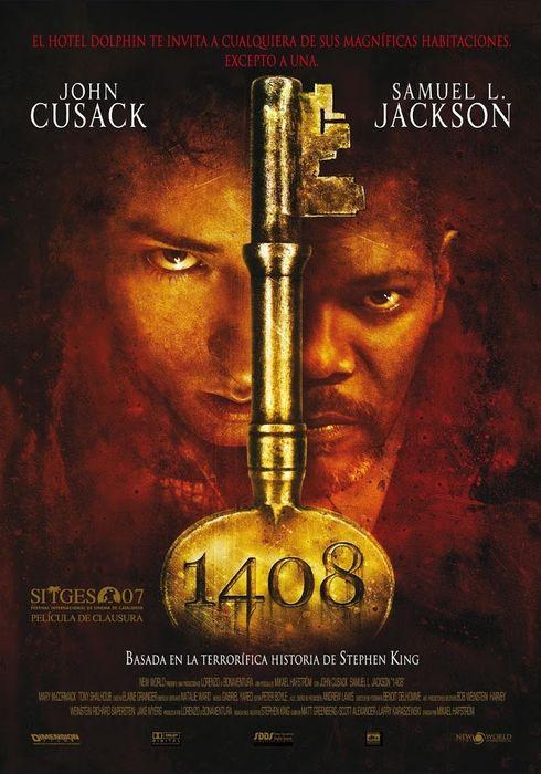 Cartel oficial en español de: 1408