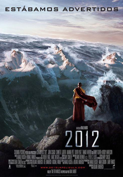 Cartel oficial en español de: 2012