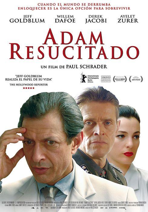 Cartel oficial en español de: Adam resucitado