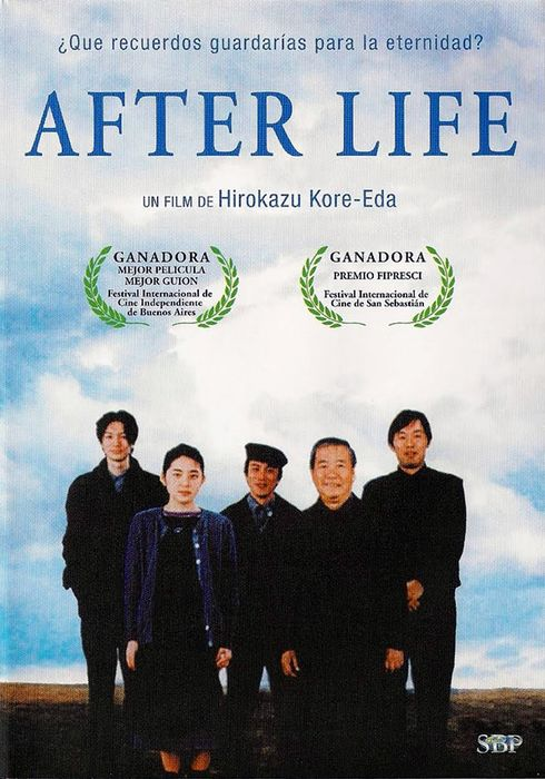 Cartel oficial en español de: After Life
