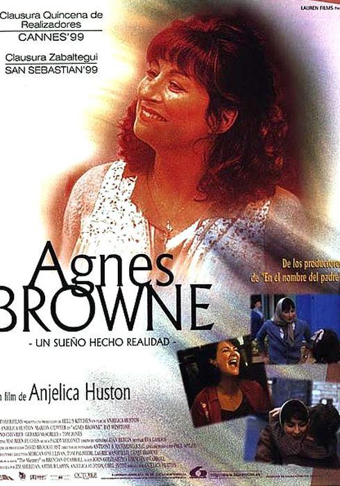 Cartel oficial en español de: Agnes Browne: un sueño hecho realidad