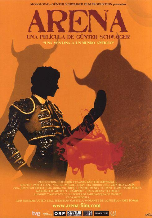 Cartel oficial en español de: Arena