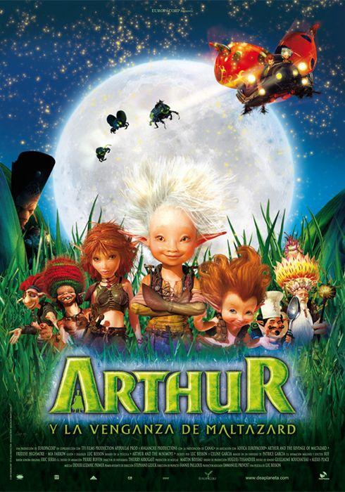 Cartel oficial en español de: Arthur y la venganza de Maltazard