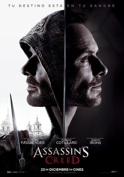 Cartel oficial en español de: Assassin's Creed