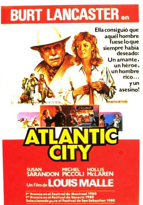 Cartel oficial en español de: Atlantic City