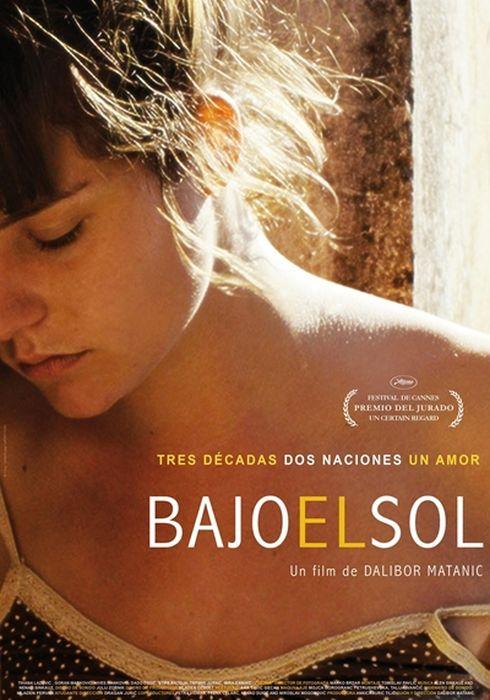 Cartel oficial en español de: Bajo el sol (2015)