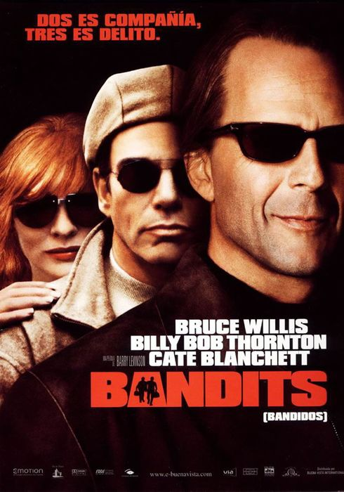Cartel oficial en español de: Bandits (Bandidos)