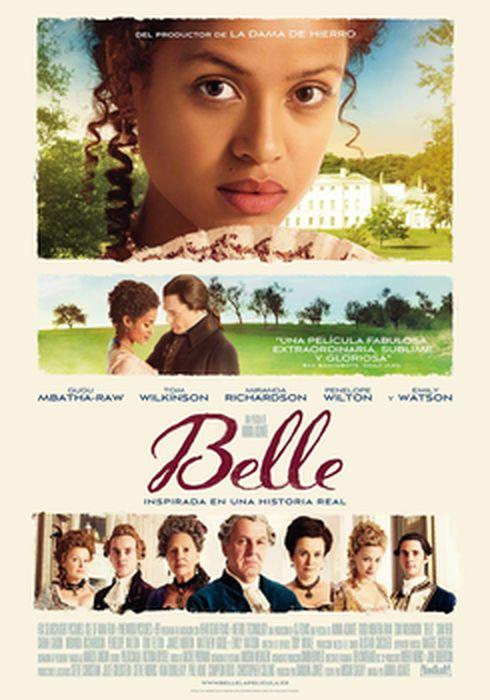 Cartel oficial en español de: Belle