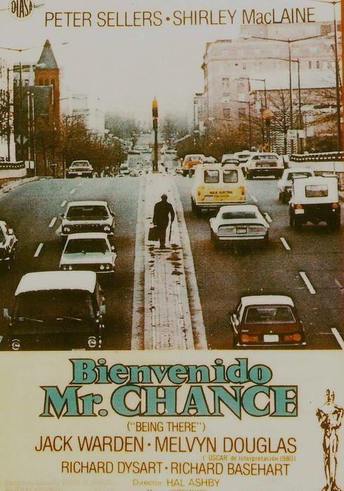Cartel oficial en español de: Bienvenido Mr. Chance