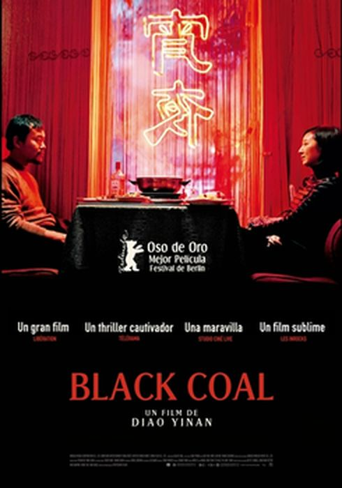 Cartel oficial en español de: Black Coal