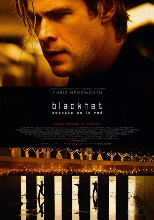 Cartel oficial en español de: Blackhat (Amenaza en la red)