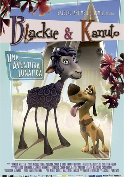 Cartel oficial en español de: Blackie & Kanuto